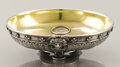Decorative Arts, Continental:Other , A SILVER AND SILVER GILT BOWL WITH INSET COINS. Stephen Wakeva, St.Petersburg, Russia, circa 1900. Marks: 88 (St. Peter...