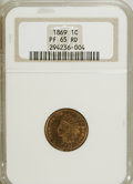 Proof Indian Cents: , 1869 1C PR65 Red NGC. NGC Census: (12/5). PCGS Population (15/2). Mintage: 600. Numismedia Wsl. Price for NGC/PCGS coin in ...