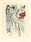 Fine Art - Work on Paper:Print, MARC CHAGALL (Belorussian, 1887-1985). De Mauvais Sujets (Bad Situation). Lithograph. 16-3/4 x 12-1/2 inches (42.5 x 31....