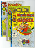 Bronze Age (1970-1979):Cartoon Character, Richie Rich and Gloria File Copy Group (Harvey, 1977-82) Condition:Average NM-.... (Total: 21 Comic Books)