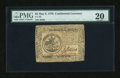 Colonial Notes:Continental Congress Issues, Continental Currency May 9, 1776 $5 PMG Very Fine 20....