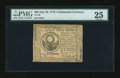 Colonial Notes:Continental Congress Issues, Continental Currency July 22, 1776 $30 PMG Very Fine 25....