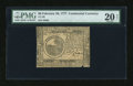 Colonial Notes:Continental Congress Issues, Continental Currency February 26, 1777 $6 PMG Very Fine Net 20....