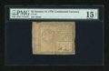 Colonial Notes:Continental Congress Issues, Continental Currency January 14, 1779 $2 PMG Choice Fine 15 Net....