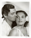 "Movie Posters:Academy Award Winner, Clark Gable and Mamo Clark in ""Mutiny On The Bounty"" (MGM, 1935).Publicity Still by William Grimes (8"" X 10"")...."