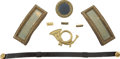 Military & Patriotic:Civil War, Federal Infantry Lieutenant's Insignia Group, consisting of the following items:... (Total: 8 Items)