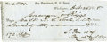 Military & Patriotic:Pre-Civil War, Pay Department, U.S. Army Check to R. S. Ewell (Mexican War) 1848. ...