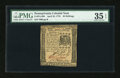 Colonial Notes:Pennsylvania, Pennsylvania April 25, 1776 40s PMG Choice Very Fine 35 EPQ....
