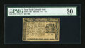 Colonial Notes:New York, New York March 5, 1776 $1/3 PMG Very Fine 30....