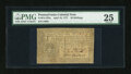 Colonial Notes:Pennsylvania, Pennsylvania April 10, 1777 20s with Ben Jacobs Signature PMG VeryFine 25....