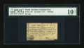 Colonial Notes:North Carolina, North Carolina December, 1771 1s PMG Net Very Good 10....