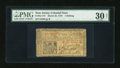 Colonial Notes:New Jersey, New Jersey March 25, 1776 1s PMG Net Very Fine 30....