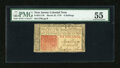 Colonial Notes:New Jersey, New Jersey March 25, 1776 6s PMG About Uncirculated 55....