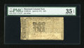 Colonial Notes:Maryland, Maryland April 10, 1774 $2/9 PMG Choice Very Fine 35 EPQ....
