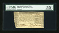 Colonial Notes:Maryland, Maryland April 10, 1774 $1/3 PMG About Uncirculated 55 EPQ....
