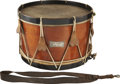 "Military & Patriotic:Civil War, Civil War Snare Drum ""Presented to/ James D. Deas/ 5th Maine DrumCorps by the Members of Co. C"" is the Engraved Legend on the..."
