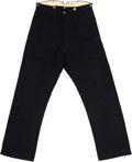 Military & Patriotic:Civil War, Outstanding Early War United States Army Issue Dark Blue Kersey Trousers. ...