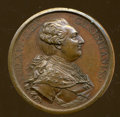 Betts Medals, 1783 Peace of Versailles Medal, Bronze, MS60 Uncertified....