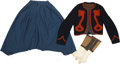 Military & Patriotic:Civil War, Outstanding and Exceedingly Rare Uniform of the Famed Keystone Zouaves Worn by Pvt. Jediah K. Burnham, Co. A, 76th Pa. Vol. In... (Total: 4 Items)