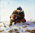 Fine Art - Painting, Russian:Modern (1900-1949), ANDREI YAKOVLEV (Russian, b. 1934). Arctic Miracle, 1970.Oil on canvas. 30 x 31-1/2 inches (76.2 x 80.0 cm). Signed low...