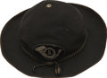 "Military & Patriotic:Civil War, Scarce Pattern Officer's Hat with Regimental Insignia and Soldier Alteration. This classic ""plug hat"" form of the Civil War ..."