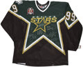 Hockey Collectibles:Others, 1998-99 Dallas Stars Team Signed Jersey....