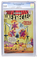 Golden Age (1938-1955):Science Fiction, Tales of the Unexpected #62 (DC, 1961) CGC GD/VG 3.0 Off-whitepages....