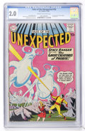 Golden Age (1938-1955):Science Fiction, Tales of the Unexpected #55 (DC, 1960) CGC GD 2.0 Cream tooff-white pages....