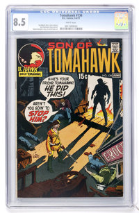 Tomahawk #134 (DC, 1971) CGC VF+ 8.5 White pages