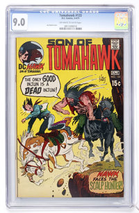 Tomahawk #133 (DC, 1971) CGC VF/NM 9.0 Off-white to white pages
