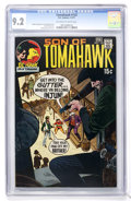 Bronze Age (1970-1979):Adventure, Tomahawk #132 (DC, 1971) CGC NM- 9.2 Off-white to white pages....