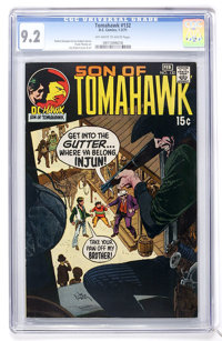 Tomahawk #132 (DC, 1971) CGC NM- 9.2 Off-white to white pages