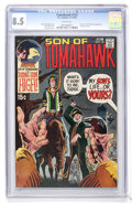 Bronze Age (1970-1979):Western, Tomahawk #131 (DC, 1970) CGC VF+ 8.5 White pages....