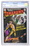 Bronze Age (1970-1979):Adventure, Tomahawk #127 (DC, 1970) CGC VF- 7.5 Off-white to white pages....