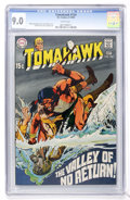 Silver Age (1956-1969):Adventure, Tomahawk #124 (DC, 1969) CGC VF/NM 9.0 White pages....