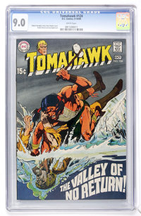 Tomahawk #124 (DC, 1969) CGC VF/NM 9.0 White pages