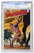 Silver Age (1956-1969):Adventure, Tomahawk #123 (DC, 1969) CGC NM- 9.2 Off-white to white pages....
