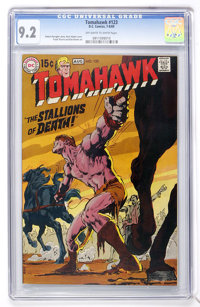Tomahawk #123 (DC, 1969) CGC NM- 9.2 Off-white to white pages