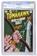 Silver Age (1956-1969):Adventure, Tomahawk #122 (DC, 1969) CGC VF+ 8.5 White pages....