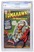 Silver Age (1956-1969):Science Fiction, Tomahawk #110 (DC, 1967) CGC VF/NM 9.0 Off-white to white pages....