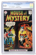 Silver Age (1956-1969):Mystery, House of Mystery #137 (DC, 1963) CGC VF 8.0 Off-white pages....