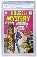 Silver Age (1956-1969):Mystery, House of Mystery #135 (DC, 1963) CGC FN/VF 7.0 Off-white to whitepages....