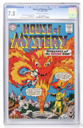 Silver Age (1956-1969):Horror, House of Mystery #131 (DC, 1963) CGC VF- 7.5 Off-white to whitepages....