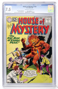 Silver Age (1956-1969):Horror, House of Mystery #120 (DC, 1962) CGC VF- 7.5 Off-white to whitepages....