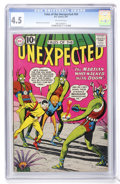 Golden Age (1938-1955):Science Fiction, Tales of the Unexpected #64 (DC, 1961) CGC VG+ 4.5 Off-whitepages....