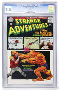 Silver Age (1956-1969):Science Fiction, Strange Adventures #180 (DC, 1965) CGC NM 9.4 White pages....