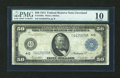 Large Size:Federal Reserve Notes, Fr. 1039a $50 1914 Federal Reserve Note PMG Very Good 10....