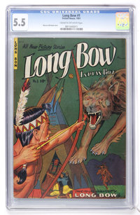 Long Bow #1 (Fiction House, 1951) CGC FN- 5.5 Cream to off-white pages