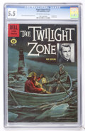 Silver Age (1956-1969):Adventure, Four Color #1173 Twilight Zone (Dell, 1961) CGC FN- 5.5 off-white to white pages....