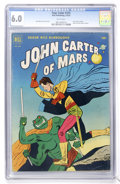 Golden Age (1938-1955):Science Fiction, Four Color #375 John Carter of Mars (Dell, 1952) CGC FN 6.0 Whitepages....